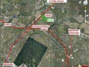 Teren pentru dezvoltare logistica/productie la sosea 90.000 mp
